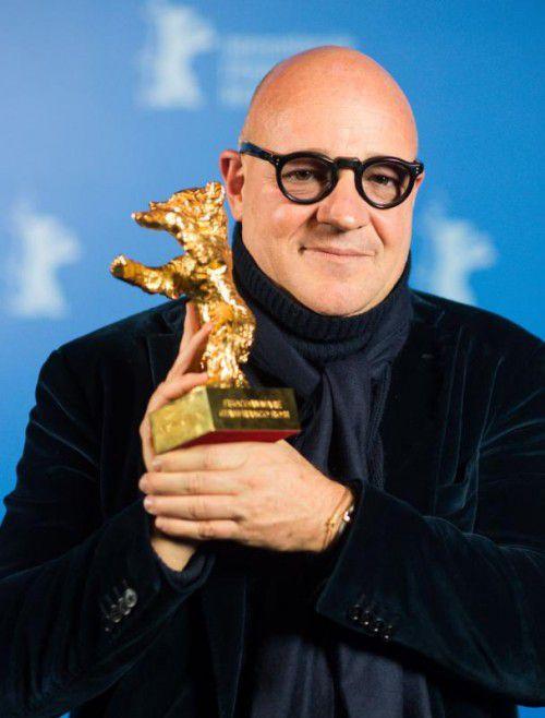 """Gianfranco Rosi gewann mit """"Seefeuer"""" den Goldenen Bären."""