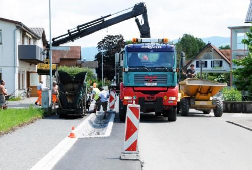 Harder Erlach: Kanal und Belag wurden erneuert.