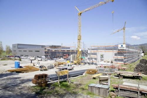 Heron investiert derzeit kräftig in den Betriebsstandort in Dornbirn.