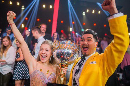 """Im Frühling gewann Victoria Swarovski mit Profitänzer Erich Klann das Finale der RTL-Tanzshow """"Let's Dance""""."""