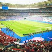EM schauen im Stade de France