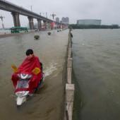 131 Todesopfer in China,  Pakistan und Indien