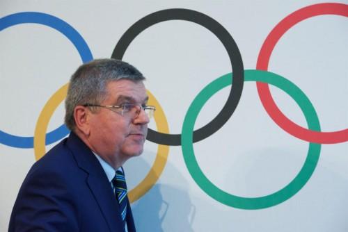 IOC-Präsident Thomas Bach vermeidet klare Aussagen.