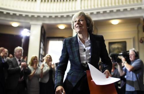 Ist Theresa May die nächste britische Premierministerin? Ihre Chancen bei den Abgeordneten stehen derzeit nicht schlecht.