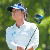 Golf-Damen mit Freude nach Rio