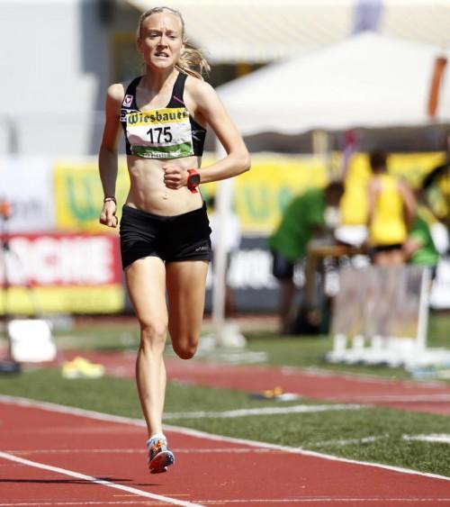 Jennifer Wenth möchte über 5000 Meter bei der EM in Amsterdam zu einem Topergebnis laufen.