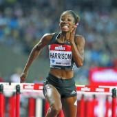 Weltrekord von Harrison über 100 m Hürden