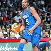 US-Basketballer sind schon in Olympiaform
