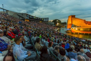 """Kommenden Donnerstag steht auf der Seebühne die Wiederaufnahme der Puccini-Oper """"Turandot"""" auf dem Festspielprogramm."""
