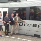Vorarlberger Mundart fährt nun auch Bahn