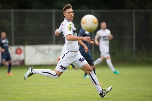 Machte mit zwei Treffern auf sich aufmerksam: Altachs Testspieler Nikola Zivotic.