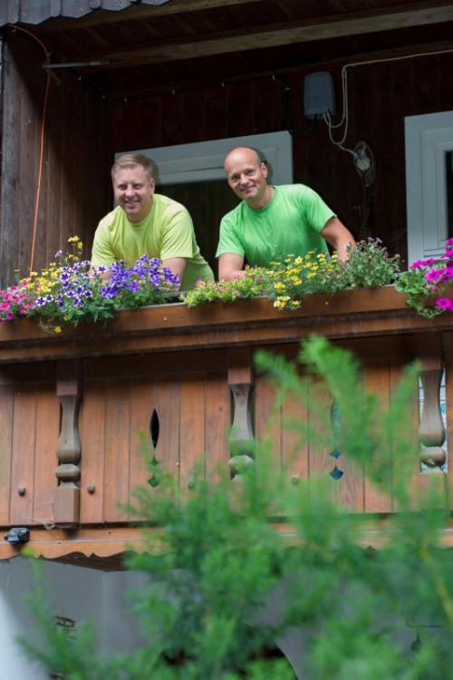 Manuel Fessler und Alexander Matt führen gemeinsam den Traditionsbetrieb.