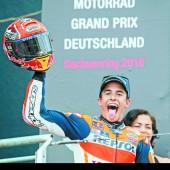 Marquez blieb König am Sachsenring