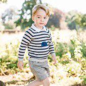 Prinz George reich beschenkt