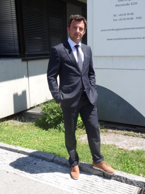 Nach 17 Jahren kehrte der Harder Martin Staudinger in seine Heimat zurück. Er leitet das Bregenzer Büro des Sozialministeriums.