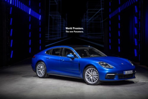 Luxusautos: Porsche Panamera ist hoch im Kurs.