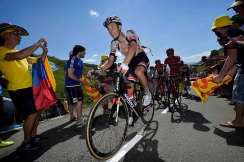 Olympia-Starter Georg Preidler ist derzeit bei der Tour de France im Einsatz. Er wird in Rio den Straßen- und Zeitfahrbewerb bestreiten.