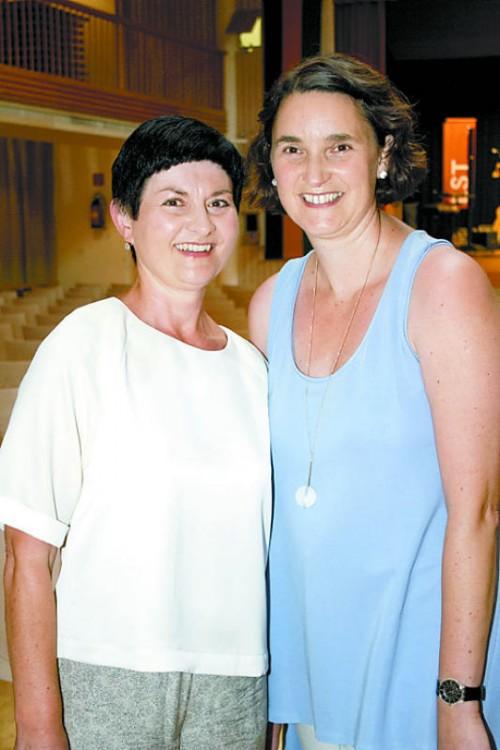 Projektleiterin Elisabeth Geser (l.) und Christine Sommerauer.
