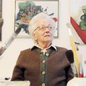 Malerin Lore Rhomberg 93-jährig gestorben