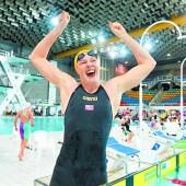 Campbell mit Weltrekord über 100 m Kraul