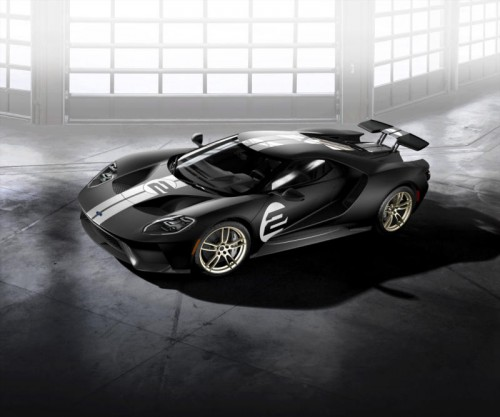 Streng limitiertes Sondermodell: Von diesem Ford GT mit 600 PS Leistung soll es nur 50 Stück geben. Preis: offen.