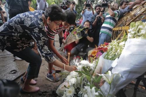 Trauer um die Opfer in Bangladesch.