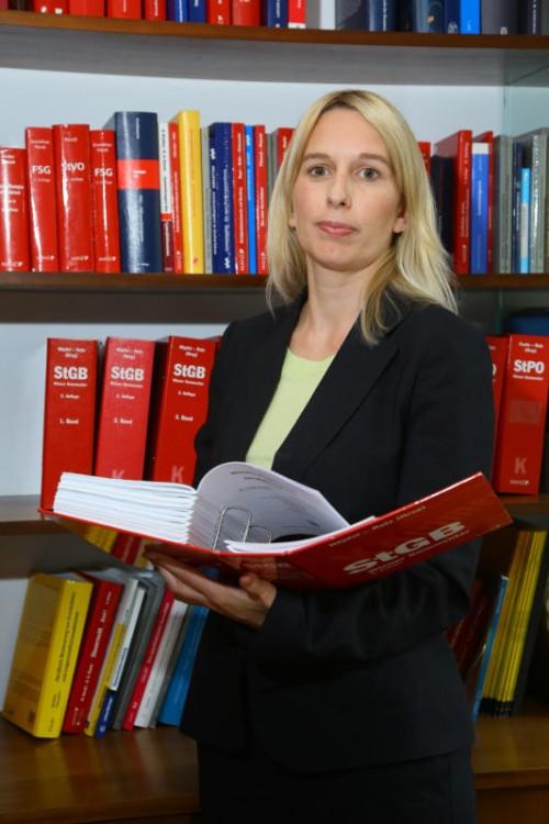 Verärgert über Versicherung: Anwältin Astrid Nagel.