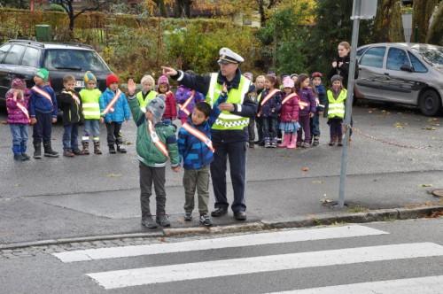 Verkehrserziehung, wie hier in Bludenz, ist für jedes Kind wichtig.