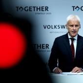 VW-Chef Müller warnt vor Konsequenzen