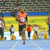Usain Bolt muss um Olympia bangen