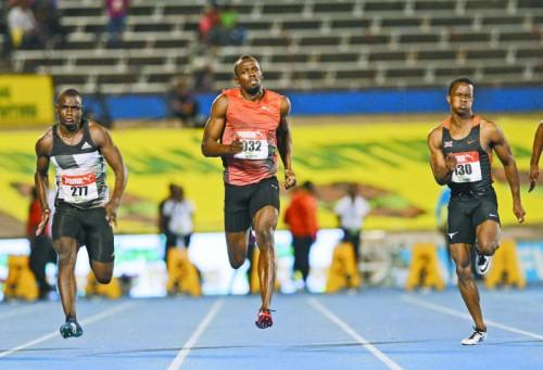 Von einer Verletzung ausgebremst: Usain Bolt.