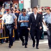 Messi zu Haft verurteilt
