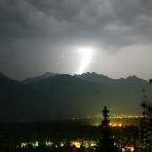 Blitzgefahr im Gebirge