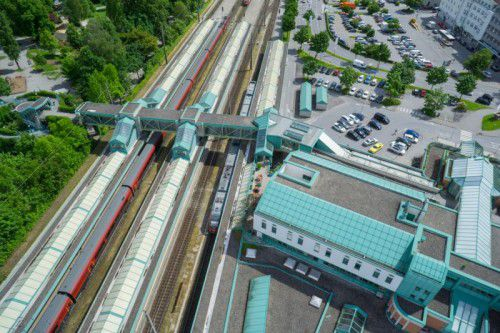 Ein weiterer Schritt zum Neubau des Bahnhofs in Bregenz ist gesetzt.VN/Hartinger