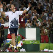 Murray sorgte für ein Novum bei Olympia