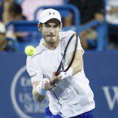Murray auch in Cincinnati schon im Viertelfinale