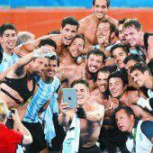 Hockey-Gold an Argentinien
