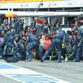 Party bei Hamilton und Red Bull