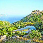 Wandern im Inselinneren