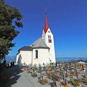Pfarrkirche von Gerüst befreit