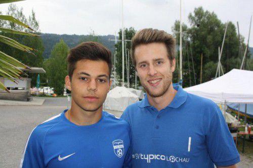 Das Torhüterduo der Saison: Sandro Eichhübl und Lukas Holzner.