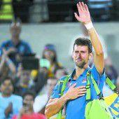 Tränen beim Aus von Djokovic