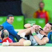 Deutscher Turn-Held Toba als Glücksbringer