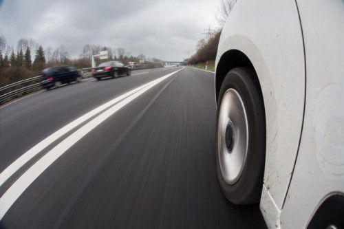 Auf der A 14 bei Wolfurt-Lauterach sind täglich mehr als 63.000 Autos und Lkw unterwegs. VN