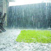 Versickerung von Regenwasser