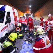 Jährlich über 110 Tunnelunfälle