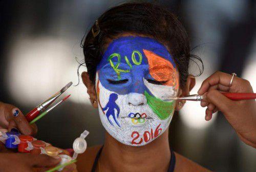 Farbenfroh sollen sie werden, die Spiele in Rio de Janeiro.