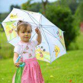 Tief Christiane ließ es kräftig regnen