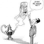 Erdogans Wunderlampe!