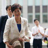 Tokio wird erstmals von einer Frau regiert